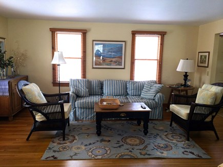 Orleans Cape Cod vacation rental - The living room where you will relax or entertain the family.
