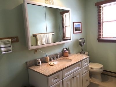 Orleans Cape Cod vacation rental - Main Bathroom is bright and updated.