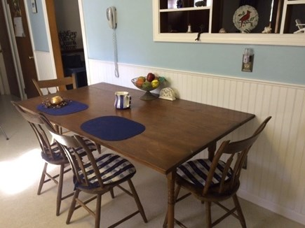 South Dennis Cape Cod vacation rental - Dining area