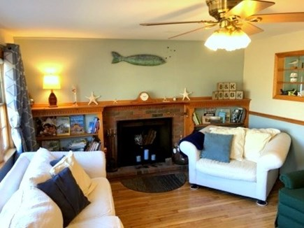 South Dennis Cape Cod vacation rental - Living area