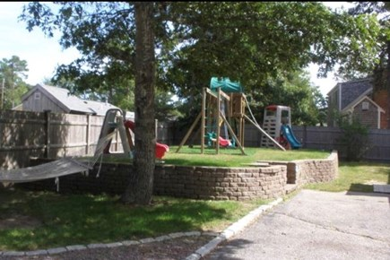 Yarmouth, Bass River Cape Cod vacation rental - Backyard Playground