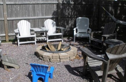 Yarmouth, Bass River Cape Cod vacation rental - Firepit