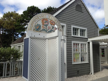 Popponesset, Mashpee Cape Cod vacation rental - Popponesset Market Place  (15 minutes walk from house)