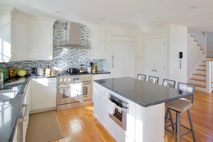 New Seabury, Mashpee New Seabury vacation rental - Gourmet Kitchen across staircase