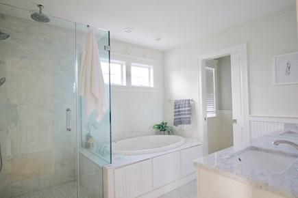 Popponesset, Mashpee Cape Cod vacation rental - 1st floor Master Bedroom en-suite Bath