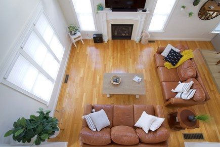 New Seabury, Mashpee New Seabury vacation rental - 2nd floor hall overlooking living room