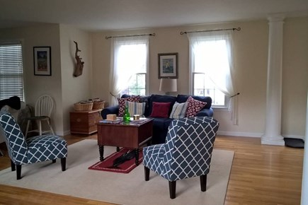 Chatham Cape Cod vacation rental - Living room view from family room.
