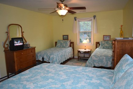 Chatham Cape Cod vacation rental - Queen bed and two twin beds.