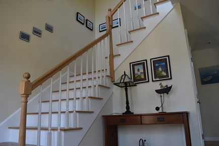 Chatham Cape Cod vacation rental - Stairs lead to loft and two bedrooms.