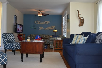 Chatham Cape Cod vacation rental - Living room.