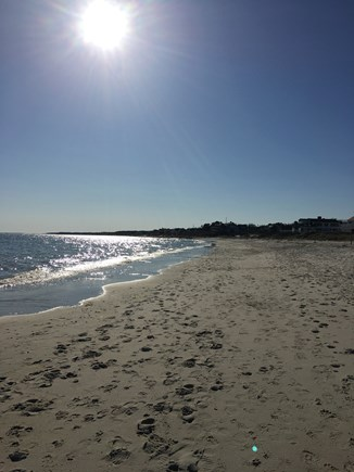 Harwich Port Cape Cod vacation rental - Great for walks and runs (1 mile long) and beach combing