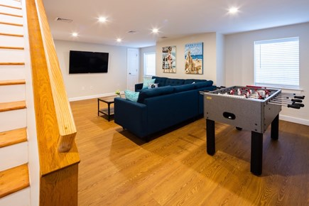 Chatham Cape Cod vacation rental - Loser level game room and TV lounge