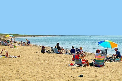 Chatham Cape Cod vacation rental - Popular Hardings Beach is less than a mile down the street.