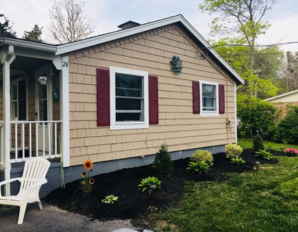 Falmouth Cape Cod vacation rental - We've just planted flowers & repainted the home.
