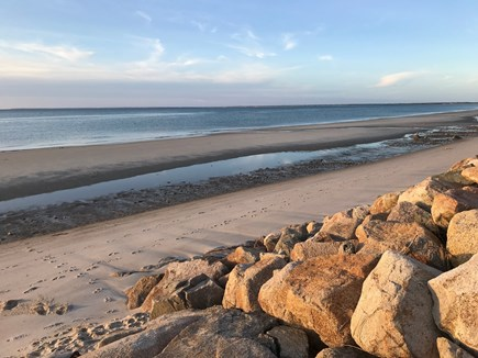 Brewster Cape Cod vacation rental - Private Bay Beach.