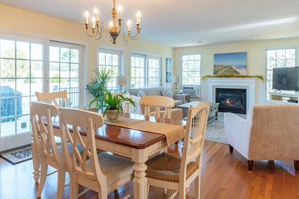 Chatham Cape Cod vacation rental - Family Room and Dining Area