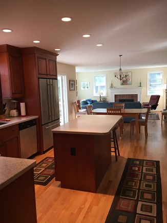 Eastham Bayside Cape Cod vacation rental - Open Kitchen and Living Space