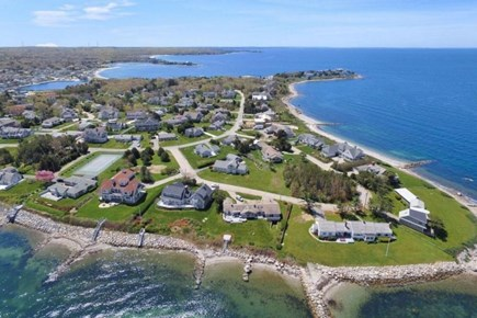 North Falmouth Cape Cod vacation rental - Nyes Neck Aerial view