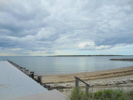 North Falmouth Cape Cod vacation rental - Nearby private beach with dock