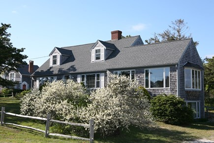 West Harwich Cape Cod vacation rental - Front of house from Trinity Cove, a private lane