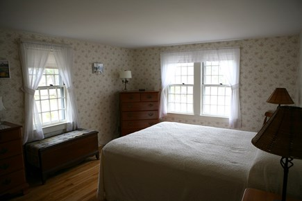 West Harwich Cape Cod vacation rental - Master queen first floor bedroom with river view