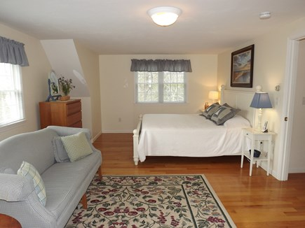 Chatham Cape Cod vacation rental - Spacious Second Floor Bedroom with King Bed and Sitting Area