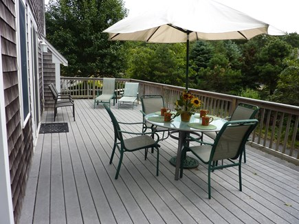 Chatham Cape Cod vacation rental - Sunny South Facing Side of The Wrap-Around Deck
