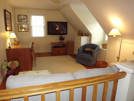 Chatham Cape Cod vacation rental - Second Floor Living Area with Flat Screen TV and Desk