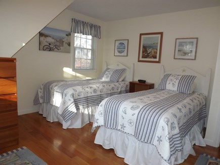 Chatham Cape Cod vacation rental - Light, Bright Second Floor Bedroom with Two Twins