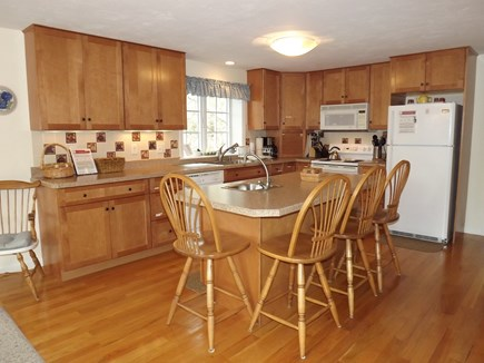 Chatham Cape Cod vacation rental - Large Open Kitchen and Island