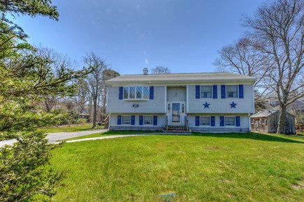 East Sandwich Cape Cod vacation rental - Front view of house from roadside.