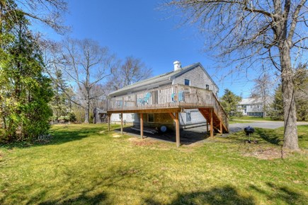 East Sandwich Cape Cod vacation rental - Spacious, private yard and deck.