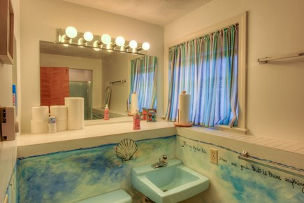 East Sandwich Cape Cod vacation rental - Full Bath off Master Bedroom on lower level.