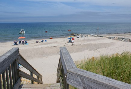 East Sandwich Cape Cod vacation rental - Association beach on Cape Cod Bay just 3/10 mile away