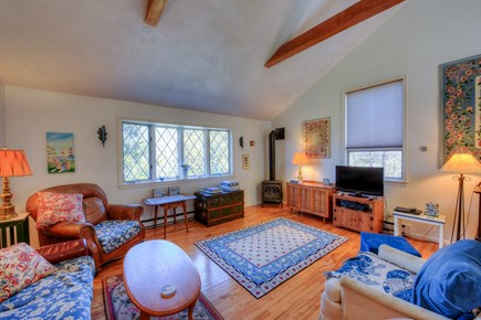 East Sandwich Cape Cod vacation rental - Living Room.
