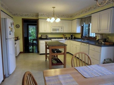Eastham Cape Cod vacation rental - Sizable family friendly kitchen off deck