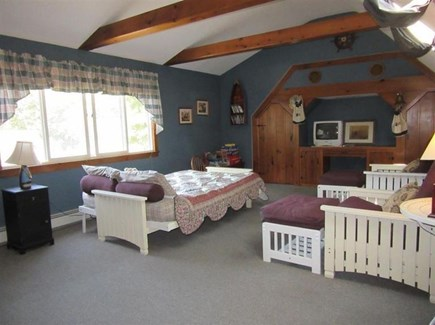 Eastham Cape Cod vacation rental - Bunk room -- two full size, two bunks for 4 twins
