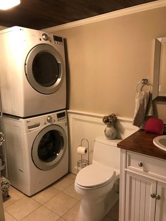 Falmouth Cape Cod vacation rental - Modern bath with new W/DBathtub/Shower
