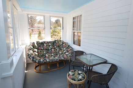 Brewster Cape Cod vacation rental - Relax and enjoy cool breezes on the 3 season porch out front