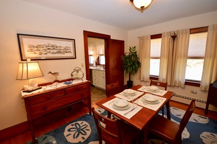 Brewster Cape Cod vacation rental - Dining for 4 off full kitchen. Also outdoor dining & grill
