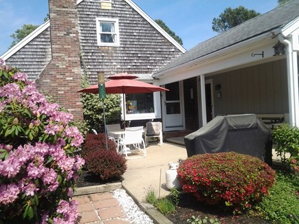 Eastham Cape Cod vacation rental - Farmers porch and outdoor patio