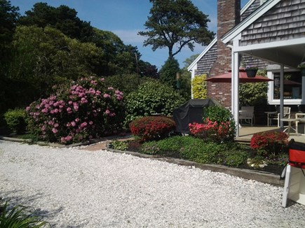 Eastham Cape Cod vacation rental - Circular driveway