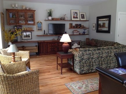 Wellfleet Cape Cod vacation rental - Room for 4 people and guests to comfortably enjoy the TV & games