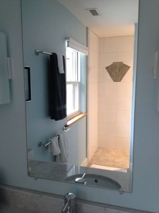 Wellfleet Cape Cod vacation rental - Beautifully tiled curbless shower