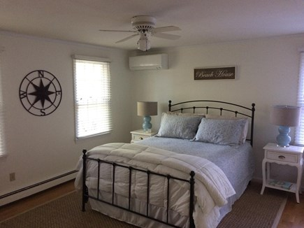 East Dennis Cape Cod vacation rental - First Floor - Master Bedroom - Hardwood floors and master bath.