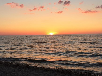 East Dennis Cape Cod vacation rental - Sunset at Harborview Beach - minutes from the property!