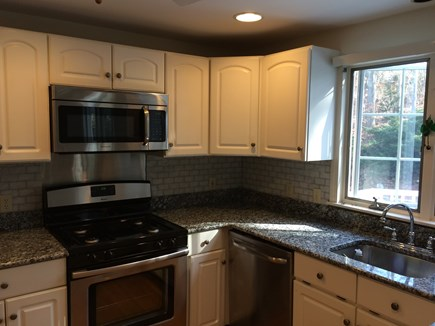 East Dennis Cape Cod vacation rental - Kitchen - New appliances and granite counter-top!