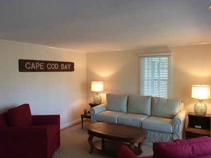 East Dennis Cape Cod vacation rental - Living Room - Nice room to read a book, play the piano or relax!