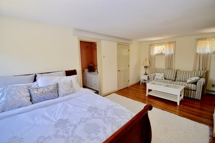 Brewster Cape Cod vacation rental - Master with king and sitting area. Will have AC.