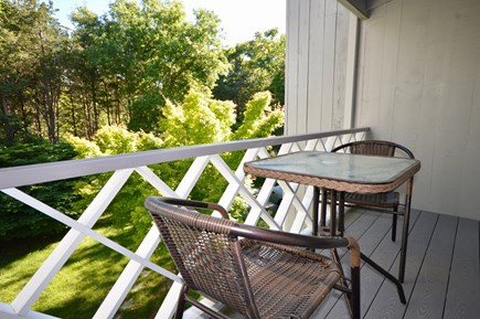 Brewster Cape Cod vacation rental - Relax on the upper deck
